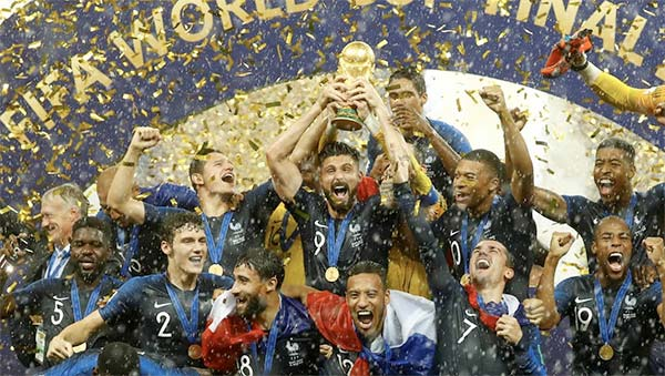 France remporte la Coupe du Monde